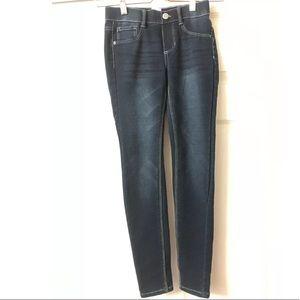 TOMMY BAHAMA Cotton Stretch Jeggings Blue Size 10